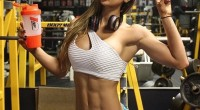 Anllela Sagra stunning pic at the gym